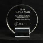 Sabion Award from ARE Design Awards Las Vegas 2014.