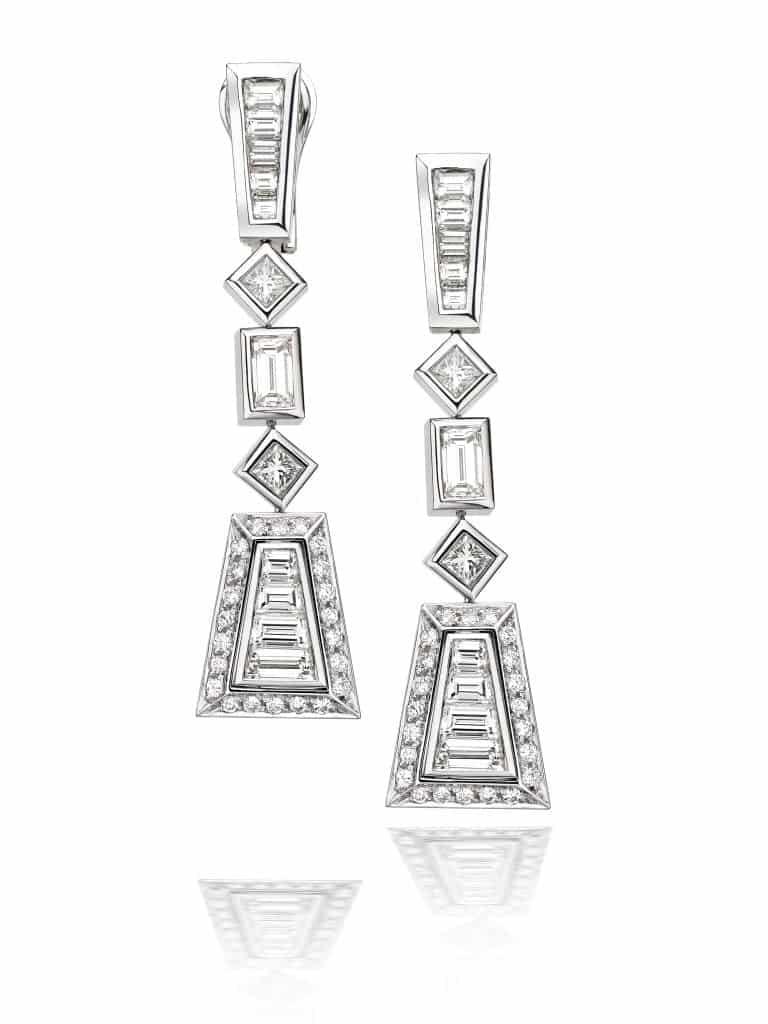 cadouri pentru ea - cercei sabion cu diamante