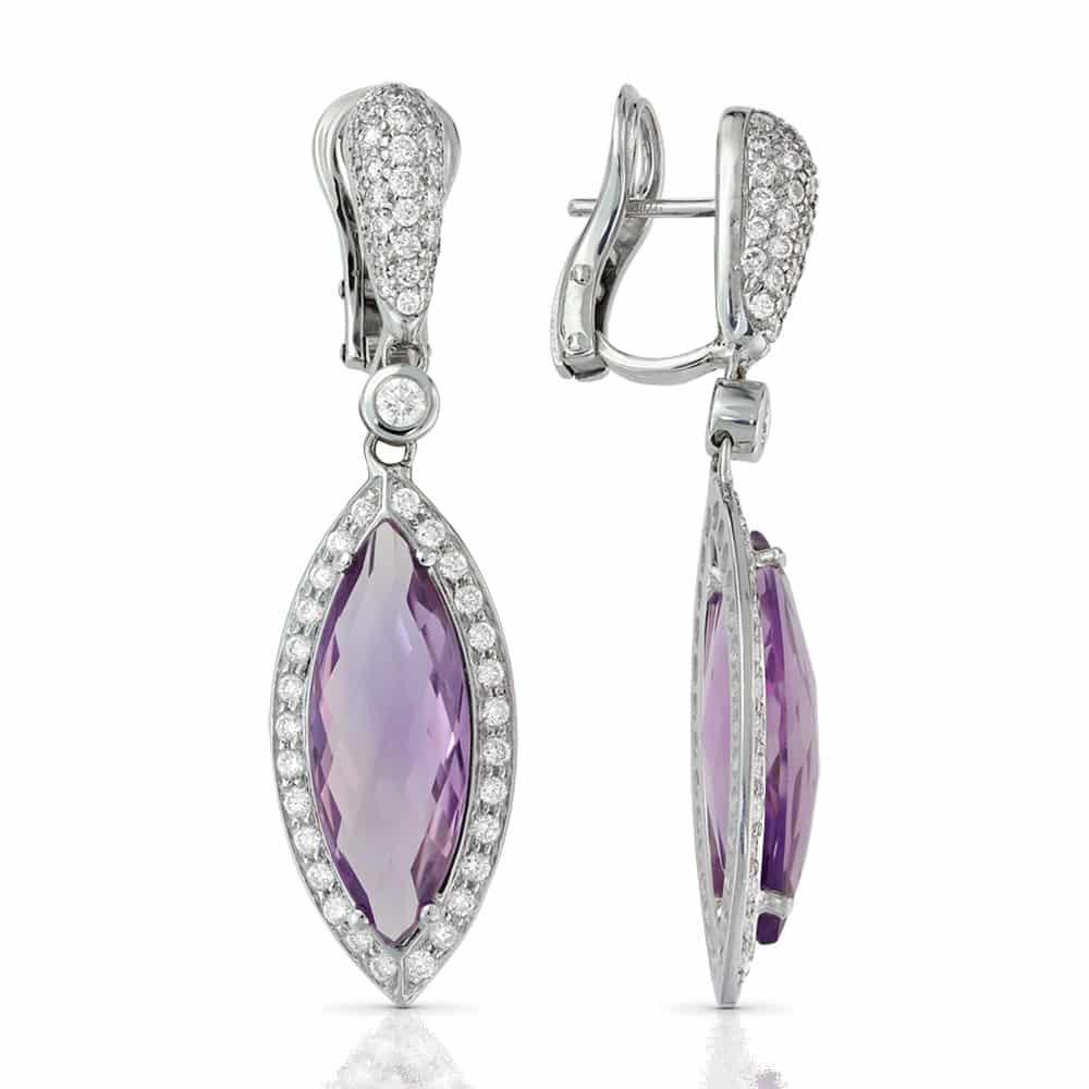 cadouri pentru ea - cercei diamante sabion