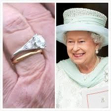 inele de logodnă celebre - regina elisabeta