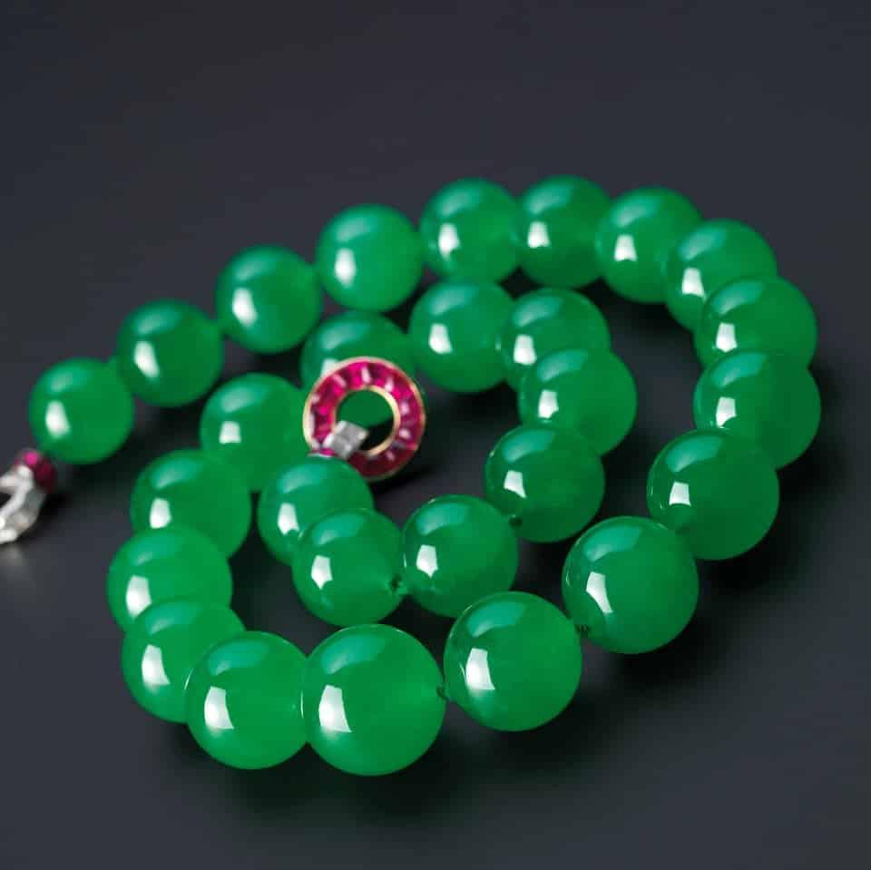 top bijuterii scumpe - 6.The Hutton-Mdivani Jadeite Necklace