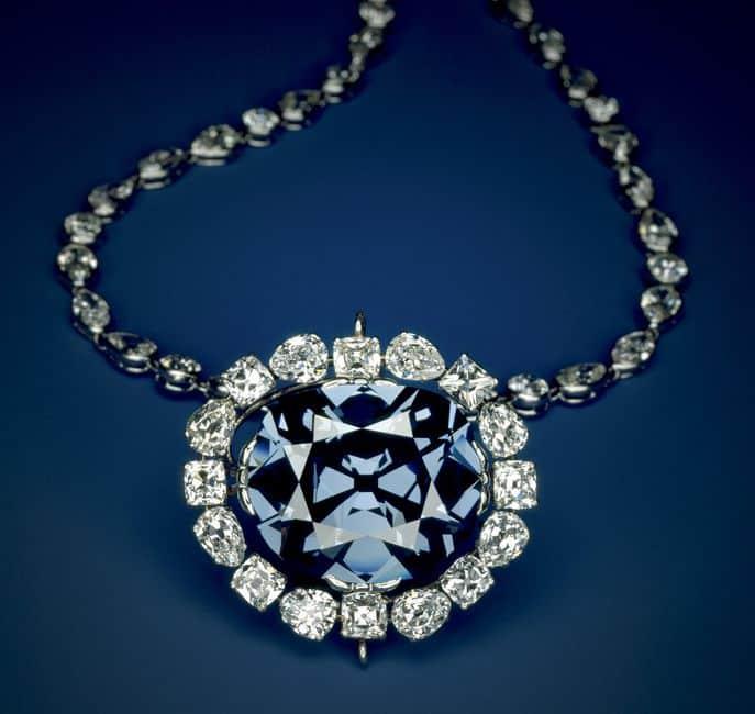 top bijuterii scumpe - hope diamond