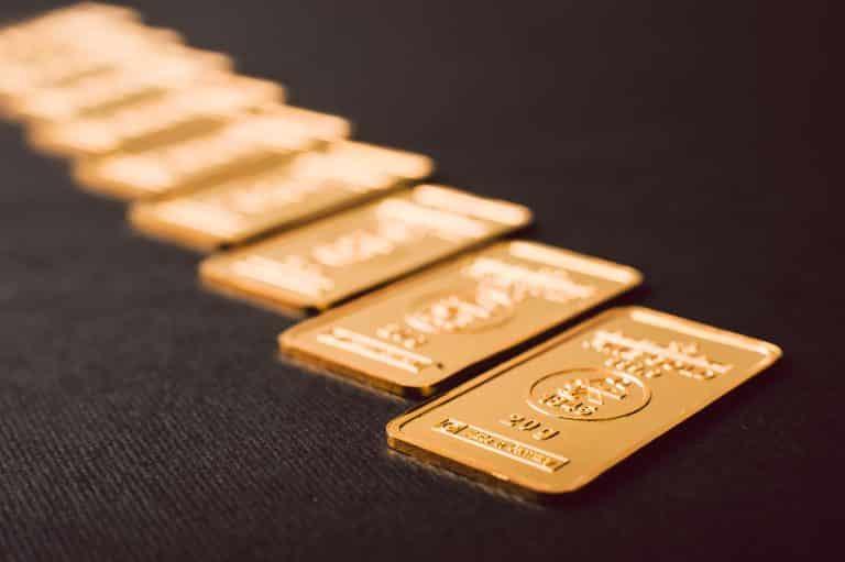 evolutia pretului aurului