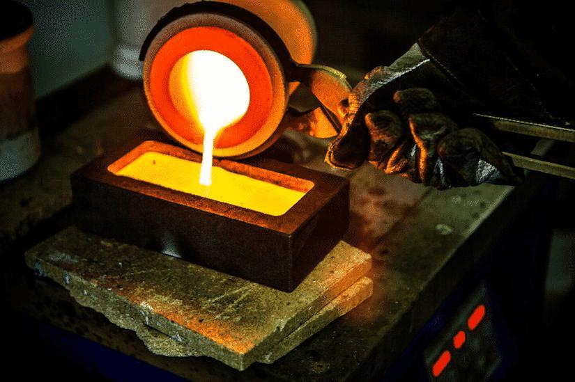 topirea aurlui